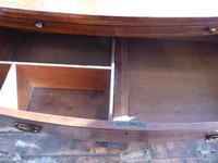 Regency Bow Chest of Drawers Sphinx Handles (4 of 8)