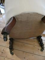 English Mid 19th Century Armchair (7 of 8)