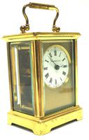 Classic Antique French 8-day Carriage Clock Timepiece c.1890 - L Epee & Camerer Cuss (3 of 10)