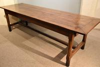 19th Century French Cherry Wood Farmhouse Table (4 of 8)