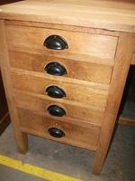 Light Oak Five Drawer Desk (2 of 2)