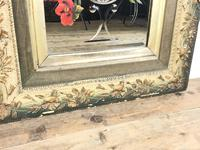 Pair of Antique Early 20th Century Hand Painted Gypsy Mirrors (3 of 5)