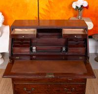 Edwardian Mahogany Bureau Writing Desk (5 of 9)
