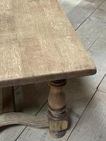 Deep Bleached Oak French Farmhouse Dining Table (20 of 20)