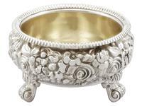 Sterling Silver Salts - Antique George III 1818 (3 of 9)