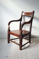 19th Century Scottish Vernacular Glasgow Pattern Joined Armchair c.1880 (6 of 24)
