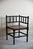 Antique Turned Corner Chair (6 of 8)