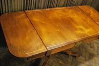 Regency Rosewood Sofa Table (9 of 9)