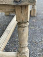 Rustic Bleached Oak French Farmhouse Dining Table (19 of 34)