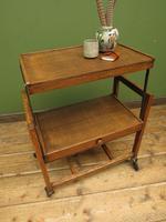 Vintage Metamorphic Oak Tea Trolley Table by Besway (15 of 18)