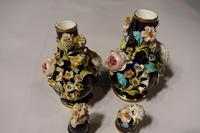 Most Attractive Pair of Late 19th Century Coalbrookdale Perfume Bottles (5 of 6)