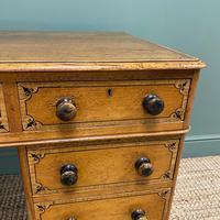 Unusual Victorian Painted Pine Antique Desk (2 of 6)