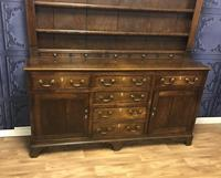 Georgian Period Oak Welsh Dresser (12 of 25)