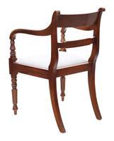 Set of 8 '6+2' Regency Mahogany Dining Chairs 19th Century c.1820 (8 of 13)