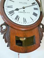Stunning 1888 English Fusee Drop Dial Timepiece by James Collins & Son (2 of 7)