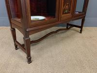 Shapland & Peter Mahogany Display Cabinet (13 of 16)