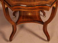 Fine Quality Rosewood Occasional Table c.1890 (4 of 6)