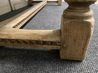 Bleached Oak Farmhouse Refectory Dining Table (12 of 22)