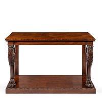 Regency Mahogany Console Table (4 of 8)