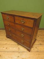 Antique Georgian Country House Oak Chest of Drawers (9 of 22)