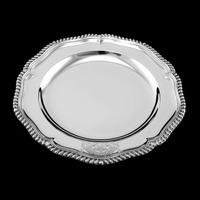 Antique Solid Silver Dish with Coat of Arms for Michael Bass, 1st Baron Burton - Garrard 1888 (10 of 21)