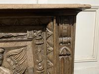 Continental Carved Oak Coffer (5 of 15)