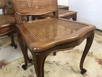 Vintage French Set of 6 Bergère Cane Dining Chairs Louis Style (8 of 8)