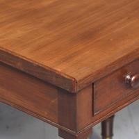 Quality George IV Mahogany Side Table (2 of 6)