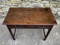 Antique Georgian Oak Side Table (12 of 14)