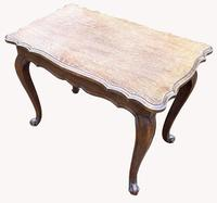 Good Quality Early 20th Century Solid Oak Side Table (4 of 6)