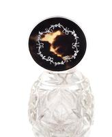 Antique Sterling Silver, Cut Glass & Inlaid Tortoiseshell Perfume Bottle 1912 (2 of 9)