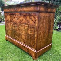 Burr walnut Louis Philippe commode (13 of 13)