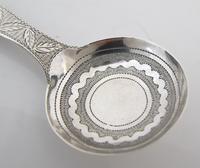Rare Pristine George III Silver Caddy Spoon John Lawrence & Co Birmingham 1810 (3 of 6)