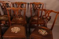 Set of 6 Country Chippendale Dining Chairs (4 of 11)