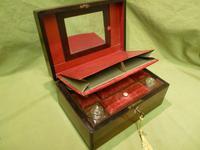 Inlaid Rosewood Jewellery – Vanity Box c.1860 (2 of 14)