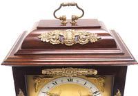 Superb Mahogany Caddy Top Mantel Clock Dual Musical Bracket Clock by Elliott (5 of 9)