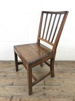 Pair of 19th Century Welsh Oak Farmhouse Chairs (8 of 10)