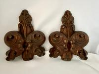 Victorian English Carved Pew End