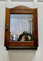 Wall Hanging Oak Cloakroom or Bathroom Cupboard (6 of 6)