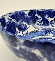 Antique Porcelain Chinese Blue & White Bowl (4 of 6)