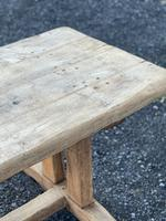 Large French Rustic Bleached Oak Farmhouse Dining Table (10 of 36)