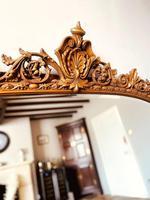 Antique Gold Mirror / Gilt Mirror / Large Mirror (5 of 9)