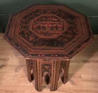 Decorative Burmese chai or tea table (4 of 8)