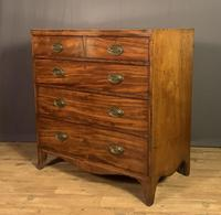Georgian Caddy Top Mahogany Chest of Drawers (5 of 7)