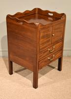 Mahogany Late 18th Century Bedside Cupboard (5 of 8)