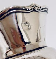 Pair of Antique Sterling Silver Trumpet Shaped Vases (12 of 12)