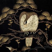 A Japanese needlework of an eagle (5 of 5)