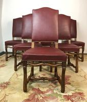 French Os De Mutton Set of 6 Dining Chairs (4 of 14)