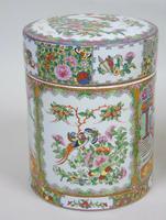 Fabulous Large Pair Chinese Famille Rose Opium Jars (6 of 12)