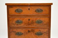 Small Antique George III Mahogany Chest of Drawers (6 of 8)